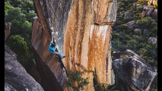 Giuliano Cameroni climbs Finnish Line 8C by mellow
