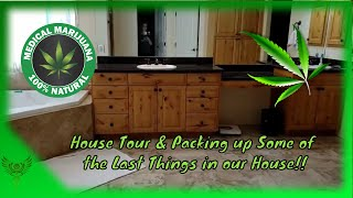 House Tour & Packing up Some of the Last Things in our House Vlog 7!!