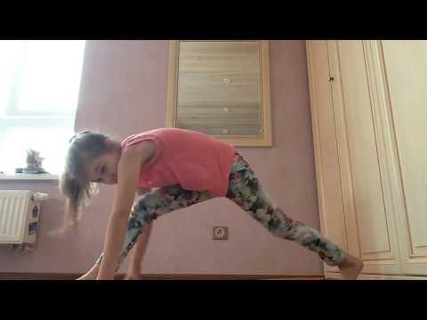 Гимнастика челлендж часть 3