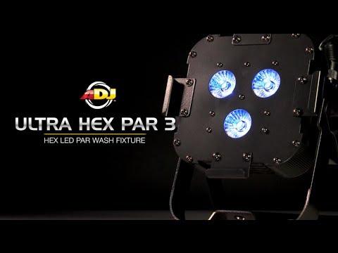 AMERICAN DJ Ultra Hex Par3  LED PAR reflektor