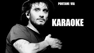 Fabrizio Moro   Portami Via   Karaoke Sanremo 2017