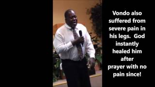 Blind Eye Healed By The Power Of GOD!