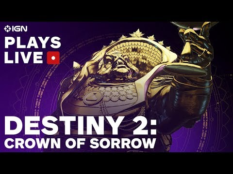 Destiny 2: Crown of Sorrow Raid Livestream - IGN Plays Live
