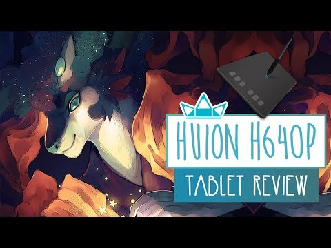 Huion H640P Graphics Tablet | UNBOXING & REVIEW | Tablet Review
