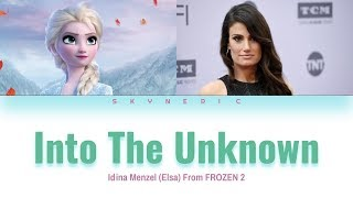 Idina Menzel & AURORA - Into The Unknown Color Coded Lyrics Video 가사 |ENG|