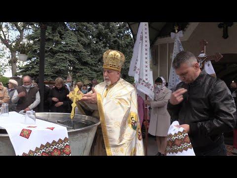 На храмовий празник у церкві св. Юрія молилися до небесного опікуна за парафіян, бродівчан і воїнів