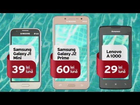 Smartphone-uri la preț special și 12 GB bonus cu Unite