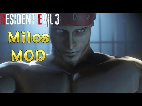 Milos 米洛斯 MOD Resident Evil 3 remake Demo (生化危機3 重製版)