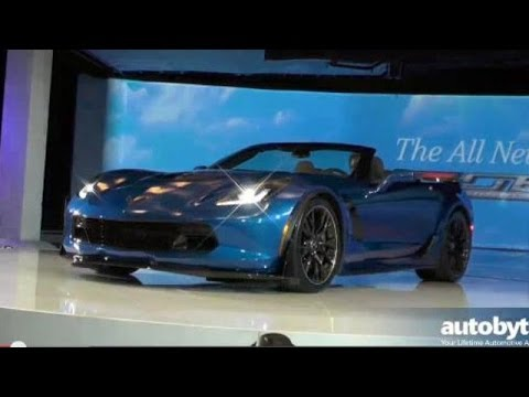 2015 Corvette Z06 Convertible Debut Video at the 2014 New York Auto Show