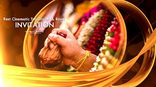 Best Traditional Hindu Wedding Invitation Video | Save The Date Video | VR 54