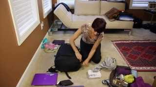 How to Pack Light for Travel and Never Check in Luggage