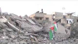 İsrail, Filistin hükümet binasını vurdu!