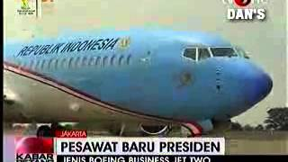 preview picture of video 'WOW!!! Indonesia punya pesawat sendiri buat Presiden'