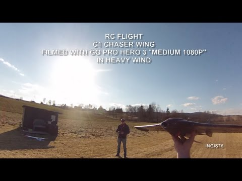 rc-flight-c1-chaser-wing-in-heavy-wind-norway-nittedal