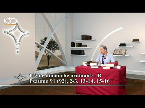 11e dimanche ordinaire B - Psaume