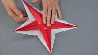 Origami Stern Für Weihnachten Faltanleitung самые популярные видео