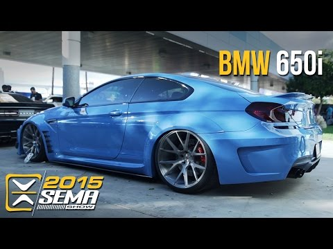 SEMA 2015 | BMW 650i |  Vossen Wheels