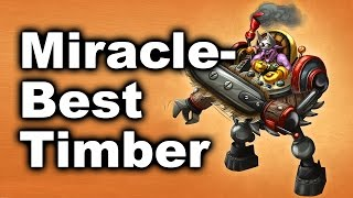 Miracle- Best Timber Play in History! - NAVI OG Final Dota 2