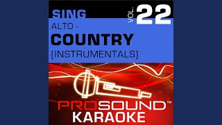 I Saw The Light (Karaoke With Background Vocals) (In the Style of Wynonna Judd)