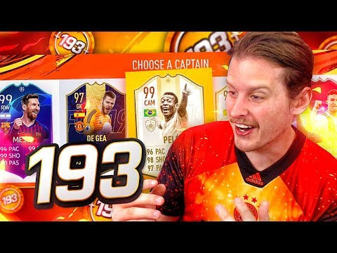 THE BEST FUT DRAFT EVER?! MY FIRST EVER 193 FUT DRAFT! FIFA 19 Ultimate Team