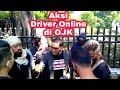 Driver Online Surabaya Aksi di OJK