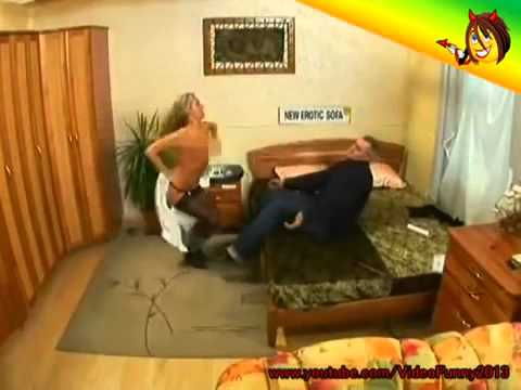 Naked and Funny Erotic sofa