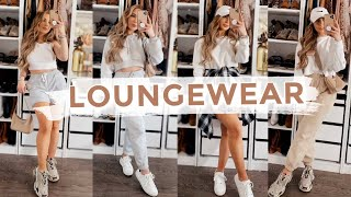 13 VERY CUTE + COMFY OUTFITS | THE BEST LOUNGEWEAR EVER (PRETTYLITTLETHING, ARITZIA + MORE)