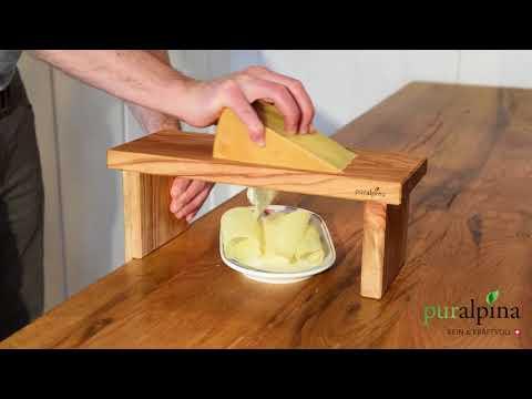 Käsehobel puralpina - einfach Käse hobeln