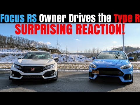 Not What I Expected! | Ford Focus RS Owner Drives My Honda Civic Type R