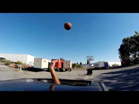 In-car basketball skills