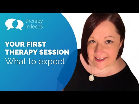 Your First Therapy Session - What to Expect