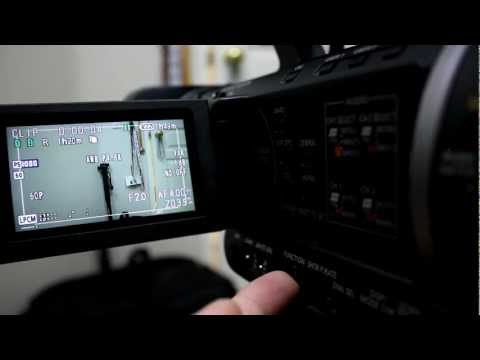 How To White Balance and Its Settings Panasonic AG-AC160A