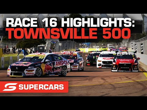 SUPERCARS 2021 NTI Townsville レースのハイライト動画