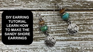 DIY Earring Tutorial - Beat The Ive Got Nothing To Do Blues By Watching This Video!