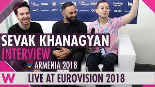 Sevak Khanagyan (Armenia) interview @ Eurovision 2018   wiwibloggs