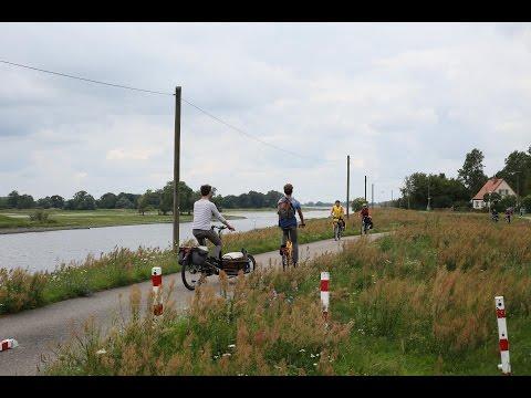 Radfahren in Brandenburg und tief durchatmen