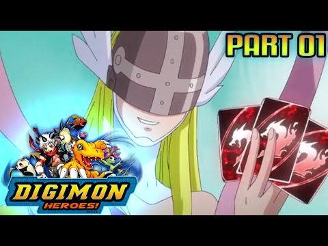 Digimon Heroes - Part 1 - The First Trial ''The Grass Field''