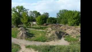 preview picture of video 'Panorama - Bike park Želiezovce'