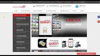 Order Golan Telecom sim card for Israel online -  Worldwide shipping
