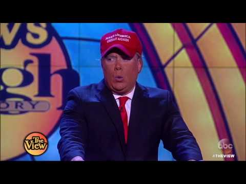 Comedians Compete For Best Pres. Donald Trump Impersonation | The View HD