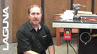 Fusion Tablesaw Setup - Install the Power Switch - Part 7 of 18