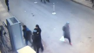 Записи камер видеонаблюдения показывает взрыв церкви