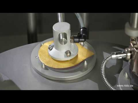 Risto Becherfüller - made in Germany! Produkte selbst abfüllen leicht gemacht - Becherfüllmaschine