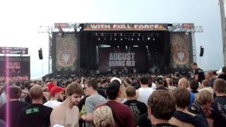 preview picture of video 'August Burns Red - Composure [With Full Force 2012]'