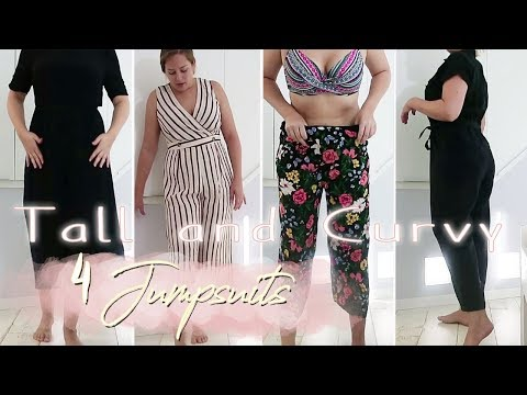 TRY ON LIVE | JUMPSUITS in GRÖßE 40-44 | TALL & CURVY | ASOS
