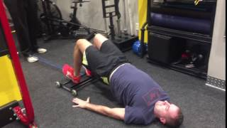 GHR Glute Ham Roller - Hip Rise Band Resisted