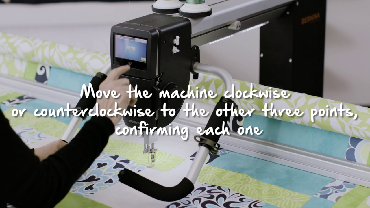 BERNINA Q-matic Video Tutorial: Boundary
