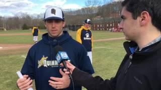 Post Game Interview w/ Quinnipiac Baseball HC John Delaney 4.2.17