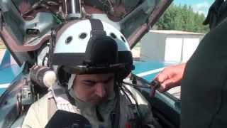 Flight of Indian guest to Stratosphere in MiG-29. Marvelous MiG-29 Experience for Civilians!