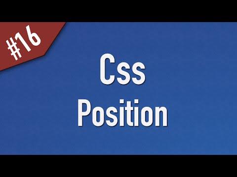 تعلم CSS القائمة #1 الفديو #16
